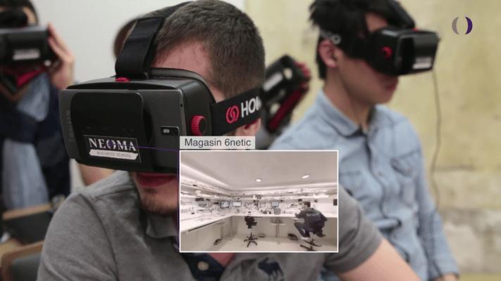 Projet ExE – Réalité virtuelle