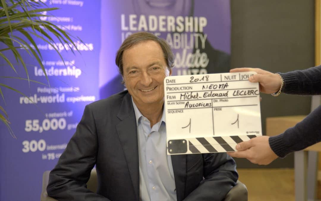 Interview de Michel-Édouard Leclerc
